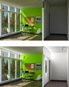 Rendering below shows SmartLight in action. Image courtesy of source site.
