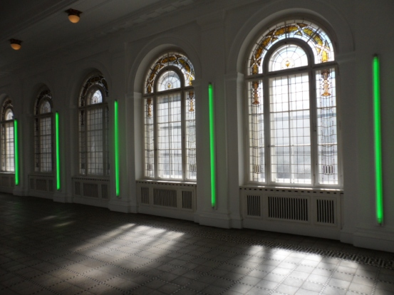 The last work of Dan Flavin in Berlin